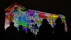 Licht-Festival in Riga
