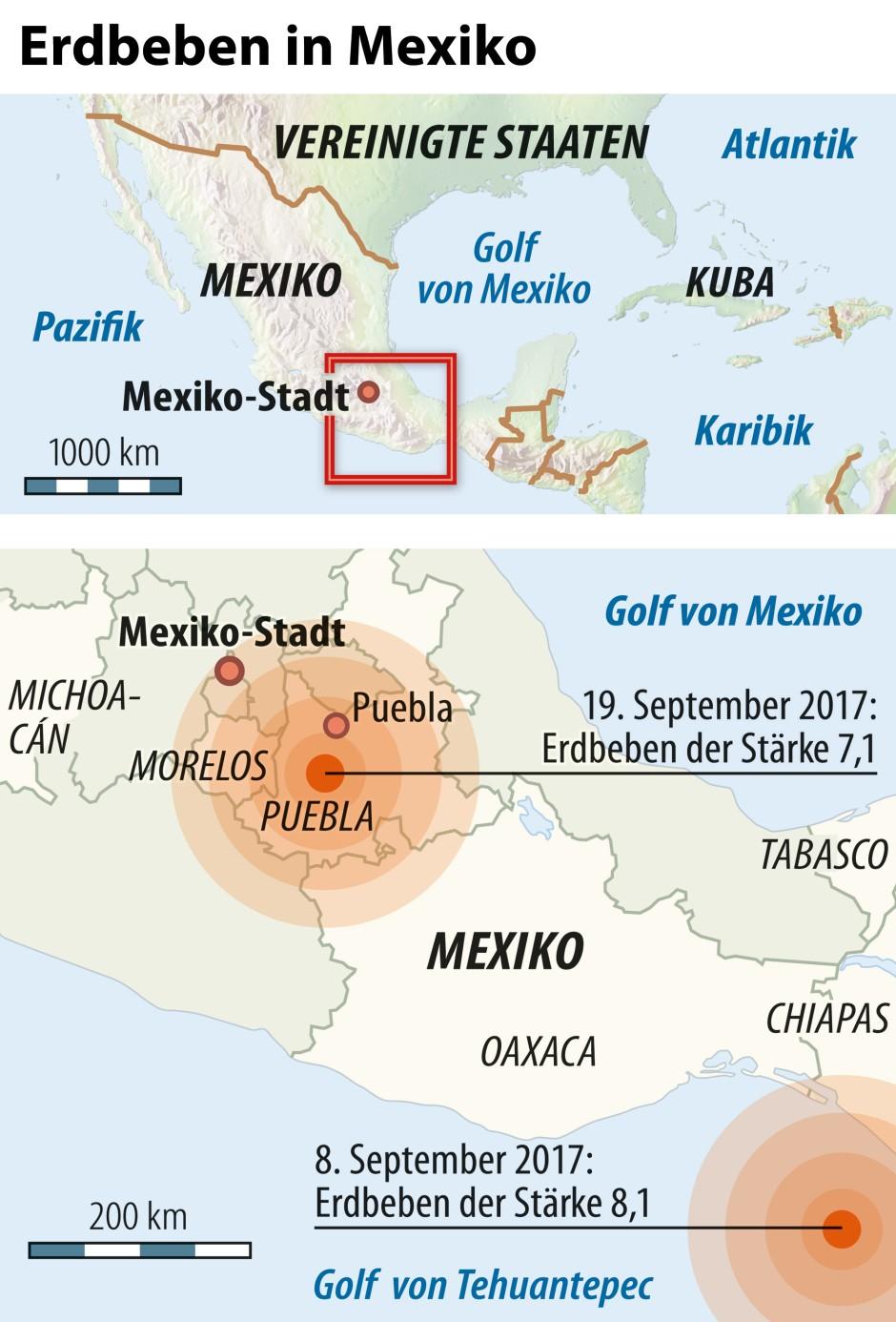 Brief Nach Mexiko Senden : Bilderstrecke zu erdbeben in mexiko suche nach