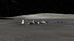 Ein Dorf auf dem Mond?