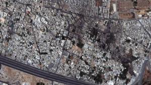 Assads Armee bombardiert Stadtviertel in Damaskus