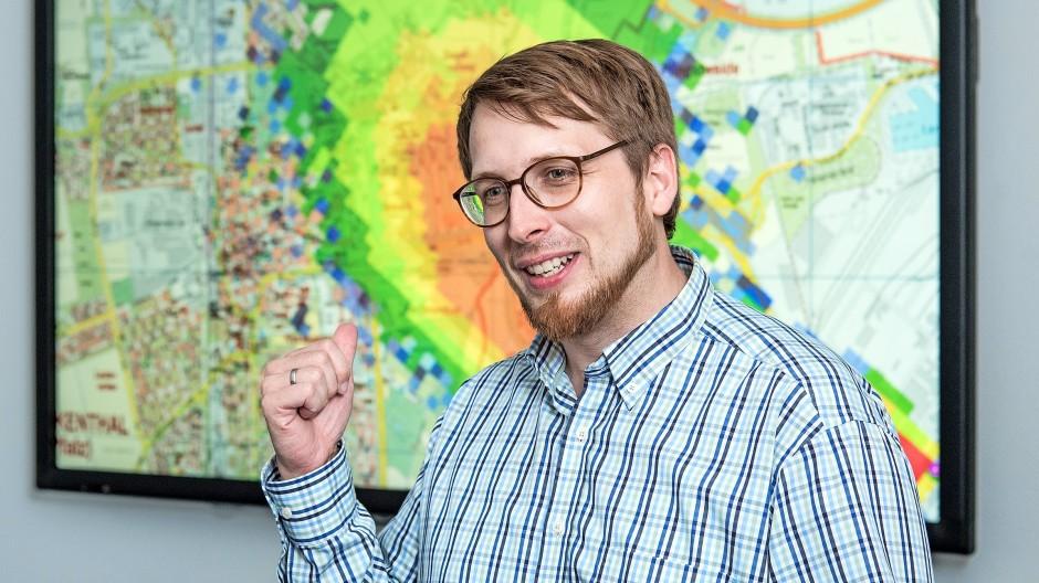 Das Wetter im Blick: BASF-Meteorologe Max Bangert