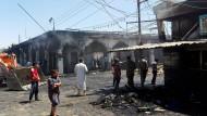 Anfang Juli war der letzte blutige Anschlag des IS in Bagdad (Archivbild).