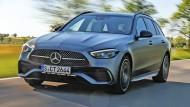 Die neue Mercedes C-Klasse im Stile von S und E