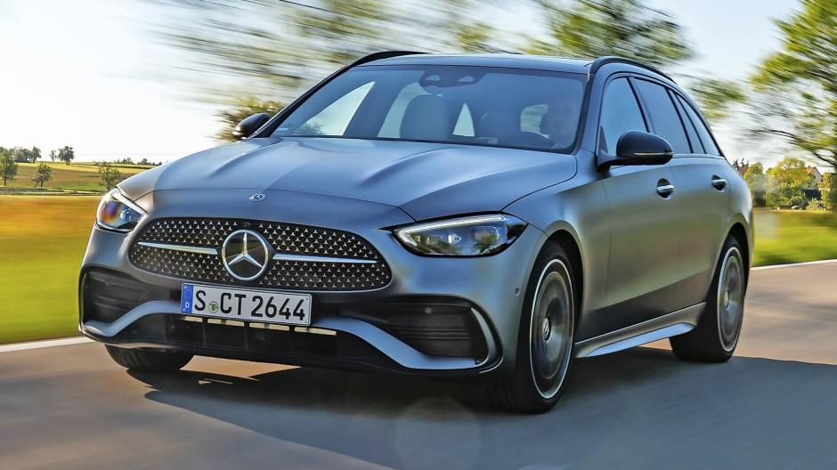 Ganz wie die Großen: Die neue Mercedes C-Klasse im Stile von S und E