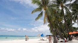 Philippinische Regierung schließt Touristeninsel