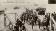 Deutscher Kaiser Wilhelm II. in Konstantinopel um 1915.
