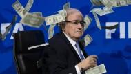 Geld, Macht, Korruption: Fifa-Chef Joseph Blatter findet Angriffe und Vorwürfe nicht mehr lustig