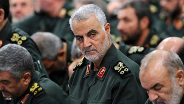 Amerikanisches Militär tötet ranghohen iranischen General