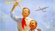 Ein Propagandaplakat aus der Sowjetunion