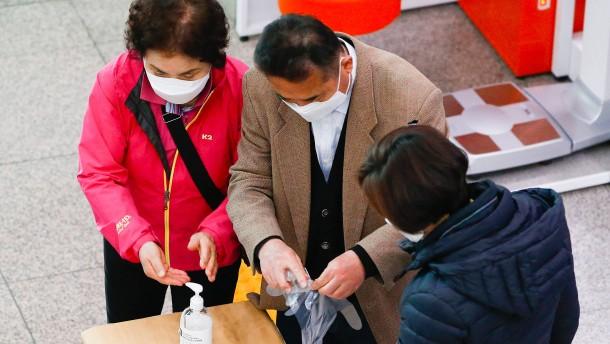 Südkorea wählt neues Parlament – mit Mundschutz