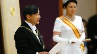 Japans neuer Kaiser Naruhito und Kaiserin Masako