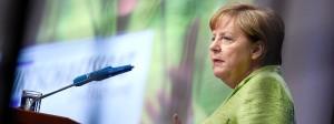Angela Merkel beim Wirtschaftstag des Wirtschaftsrats der CDU in Berlin