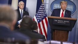 Trump sieht Amerika auf dem Höhepunkt der Pandemie