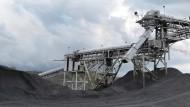 Kohle-Verladehafen im Bundesstaat Ohio