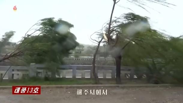 Stürme in Korea und Japan sorgen für Verwüstung