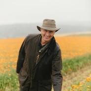 Wenn Ringelblumen leuchten: Die Blüten, die Dieter Müller erntet, landen später in den Produkten von Weleda.