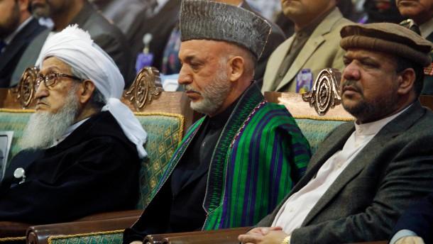 Karzais Ablenkungsmanöver