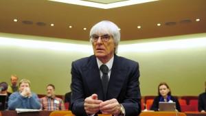 Wiedersehen mit Bernie Ecclestone