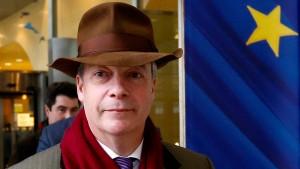 Farage kann sich zweites Brexit-Referendum vorstellen