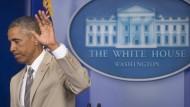 Obama schließt amerikanische Militäraktion aus
