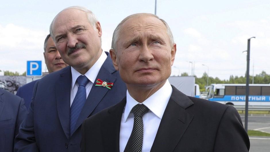 Brüder im Geiste: Lukaschenka und Putin