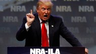 Waffenlobby NRA unterstützt Donald Trump