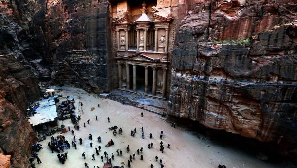 Besucherrekord in jordanischer Ruinenstadt