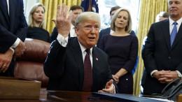 Trump will Fragen von Mueller eigenhändig beantwortet haben