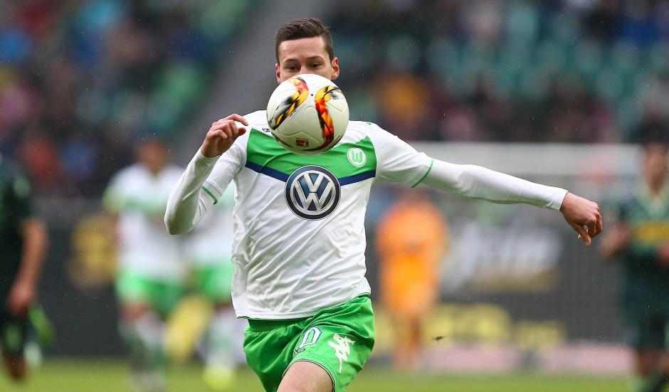 Julian Draxler vom VfL Wolfsburg soll verkauft werden