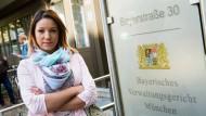 Am Donnerstag verlor Webcam-Girl Natalie Hot den Prozess vor dem Verwaltungsgericht in München. Sie darf kein Home-Office betreiben.