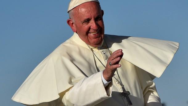 Papst prangert Drama an amerikanischer Grenze an
