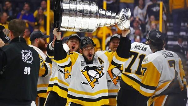 Kühnhackl verteidigt mit Pittsburgh Stanley-Cup-Titel