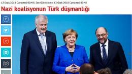 """""""Die Türkeifeindlichkeit der Nazi-Koalition"""""""