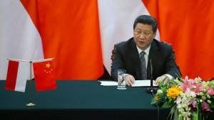 """Chinas Präsident will eine """"neue regionale Ordnung"""""""