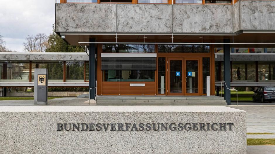 Das Bundesverfassungsgericht in Karlsruhe am 18. März 2021.