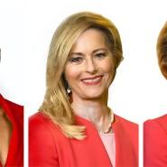 Helene Fischer und Ursula von der Leyen könnten womöglich denselben Ausweis nutzen, wenn eine spezielle Technik ihre Porträts kombiniert – zu so etwas wie dem Bild in der Mitte.