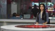 Nachrichtensprecherin macht Schlagzeilen