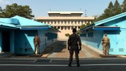 Schusswechsel an Grenze zwischen Nord- und Südkorea