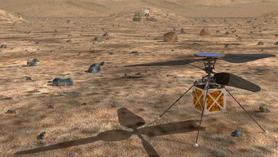 2020 als das Jahr der Mars-Missionen