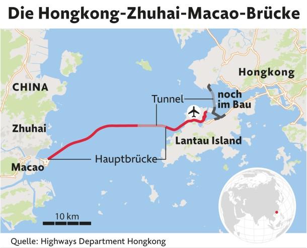 Karte China Hong Kong.Bilderstrecke Zu China Hongkong Und Macau Eine Brücke Zwei