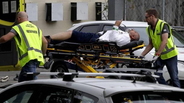 Neuseeland Anschlag Picture: Neuseeland: Anschlag Auf Moscheen In Christchurch