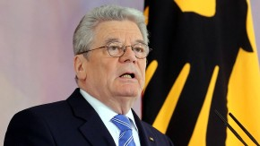 Gauck hält Europarede
