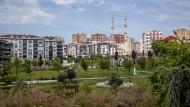 Schöner Wohnen in Istanbul: Der Park von Beylikdüzü gilt als städtebauliches Vorzeigeprojekt.