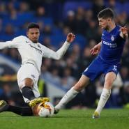 """Kämpft künftig für die """"Hammers"""" aus London gegen die """"Blues"""": Sebastien Haller, hier noch im SGE-Dress gegen Chelsea"""
