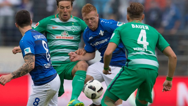 Bremen gibt den Sieg noch aus der Hand