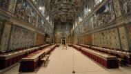 Die Sixtinische Kapelle: Hier wird der Papst gewählt
