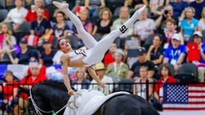 Zaubershow mit Pferd