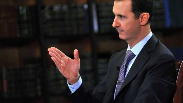 Assad sieht Vermittlerrolle für Deutschland