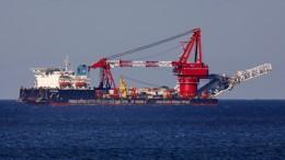 Umweltministerin für Weiterbau von Nord Stream 2