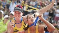 Erfolgsduo auf Titeljagd: Bei der Europameisterschaft im Juli wollen Chantal Laboureur (rechts) und Julia Sude ihren ersten Titel holen.